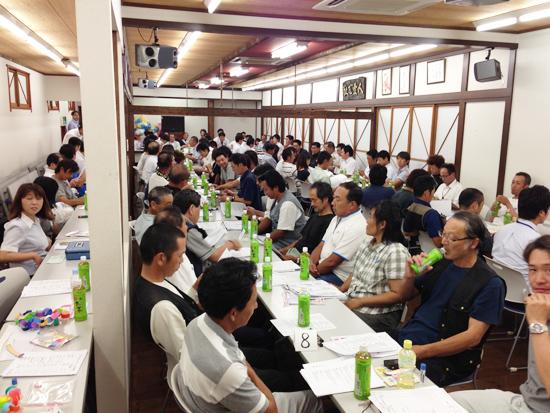 熊谷ガレージセール準備2013
