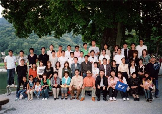 2006年サンエルグループ京都旅行