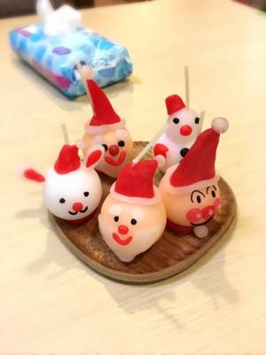 クリスマスキャンドル♪